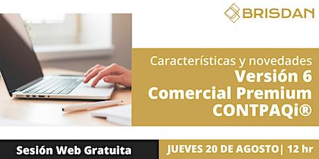 CONTPAQi® Comercial Premium 6 ingressos