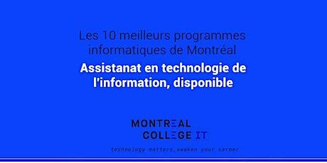 Plan d'assistanat - Programme de technologies de l'information par TI billets