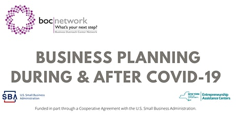 Business Planning During & After COVID-19 tickets