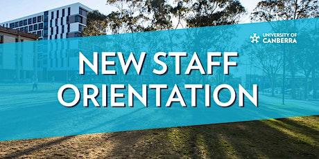 New Staff Orientation | October 2020 tickets