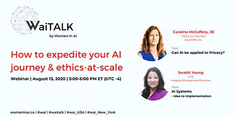 WaiTalk NY: How to expedite your AI journey & ethics-at-scale tickets
