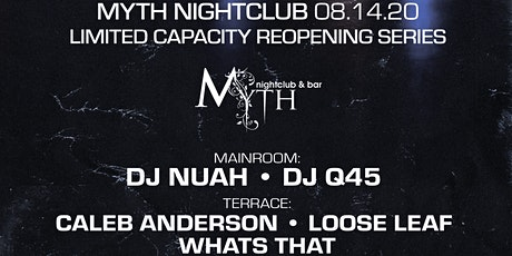 Outlet Fridays at Myth Nightclub | Friday 08.14.20 tickets