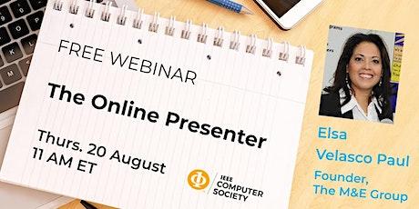 The Online Presenter tickets