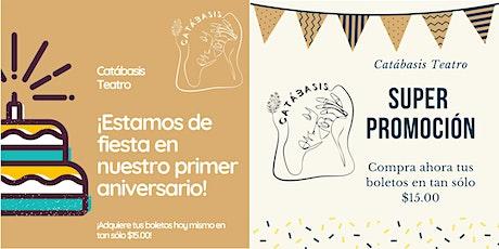Residencia Artística Catábasis (Promoción aniversario) entradas