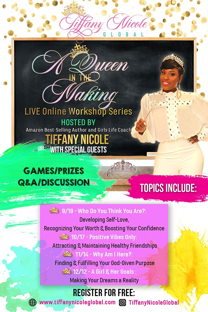 A Queen in the Making Workshop - Session 1 - Who Do You THINK You Are? image