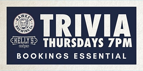 Trivia @ Kelly's - 13th August tickets