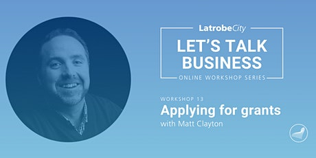 Applying for Grants presented by Matt Clayton tickets