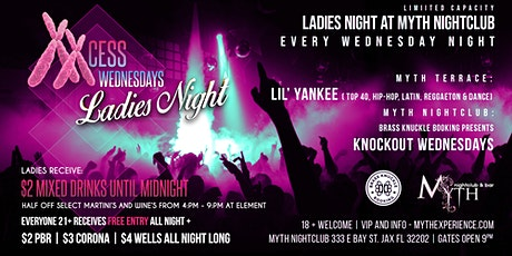 Knockout & El Escondite Wednesdays - Ladies Night | Myth Nightclub tickets