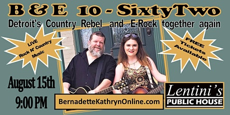 Bernadette Kathryn and E-Rock LIVE at Lentinis tickets