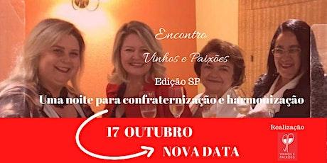 Encontro Vinhos e Paixões- Edição São Paulo- SP- ADIADO para 17/10/2020 ingressos