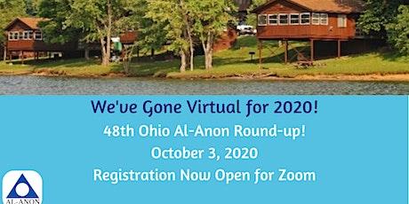 2020 Ohio Al-Anon Round-up (O.A.R.) tickets