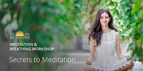Free Online Meditation - Declutter your mind from unwanted thoughts tickets