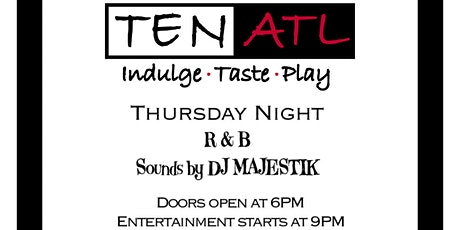 R&B Thursday w/DJ Majestik tickets