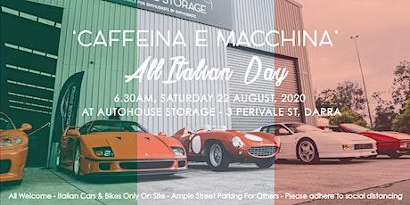 Caffeine & Machine - All Italian Day 2020 tickets