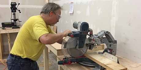 Woodworking Introduction/Safety - ACC sponsored tickets
