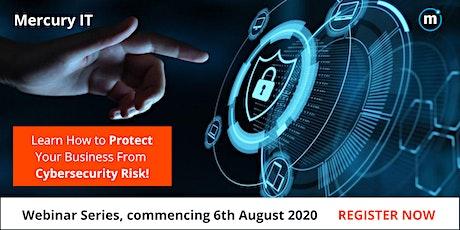 Mercury IT Webinar Series: Business Cybersecurity Risk tickets