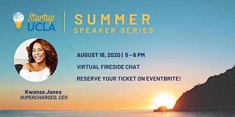 Summer Speaker Series: Kwanza Jones tickets