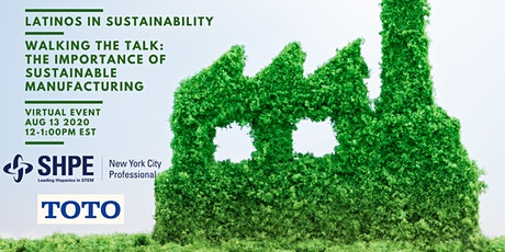 Walking the Talk: The Importance of Sustainable Manufacturing tickets