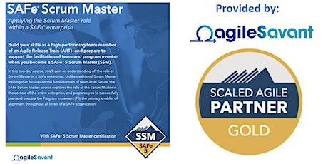 SAFe 5.0 Scrum Master - Remote - 3 x Half-Days - 12:00 - 5PM tickets