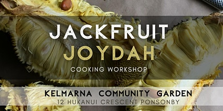 Jackfruit Joydah Cooking Workshop tickets