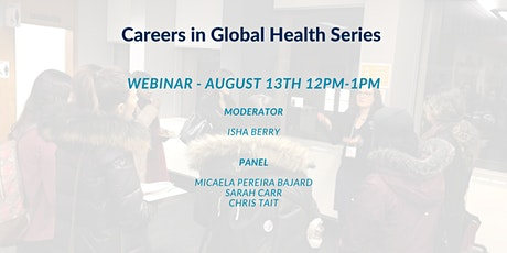 Careers in Global Health tickets