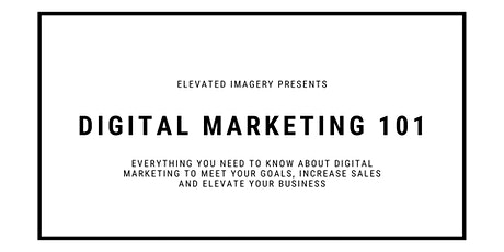 Digital Marketing 101 tickets