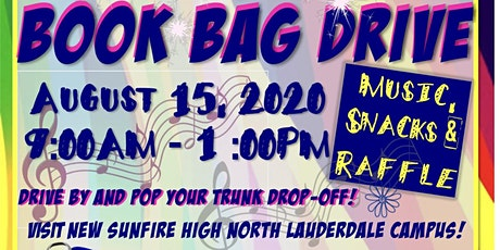 """Back 2 School"" Book Bag Drive tickets"