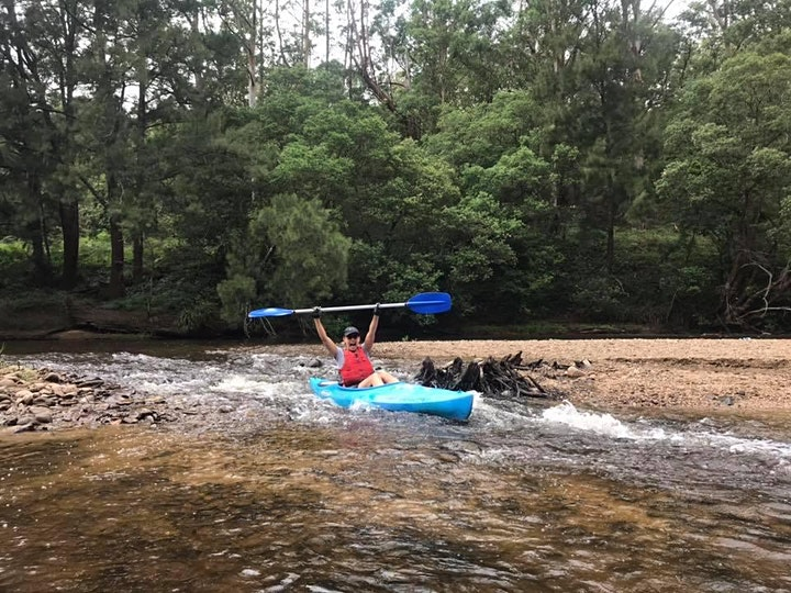 Women's Easy Rapids Kayaking // Saturday 9th October image
