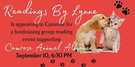 Readings By Lynne Fundraiser Benefiting The Camrose Animal Alliance tickets