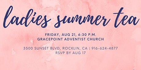 Gracepoint Ladies Summer Tea on the Lawn tickets