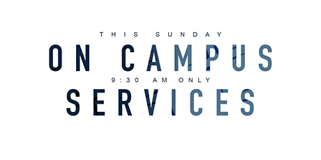 Crosspoint's On Campus Services (8/23) tickets