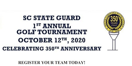 1st Annual SC State Guard Golf Tournament tickets