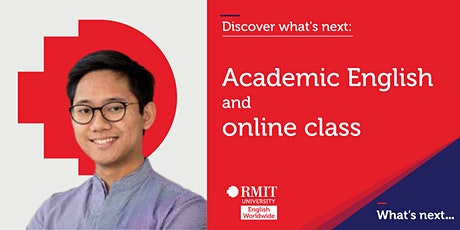 RMIT Academic English webinar and online class tickets