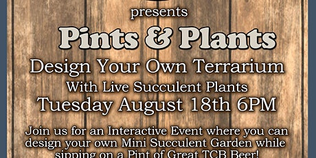 Pints & Plants August tickets