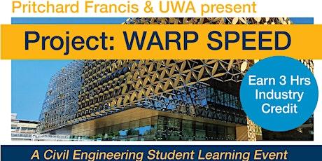 Project: Warp Speed tickets