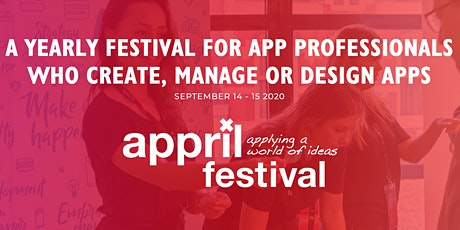 A YEARLY FESTIVAL FOR APP PROFESSIONALS WHO CREATE, MANAGE OR DESIGN APPS tickets