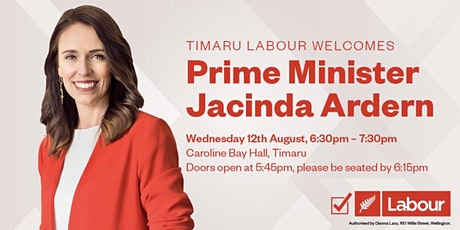 Evening with Prime Minister Jacinda Ardern tickets