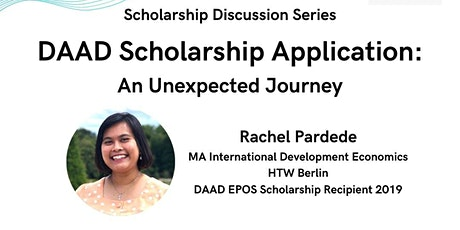 DAAD Scholarship Application: An Unexpected Journey tickets