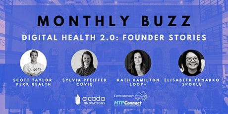 MONTHLY BUZZ | DIGITAL HEALTH 2.0: Founder Stories tickets