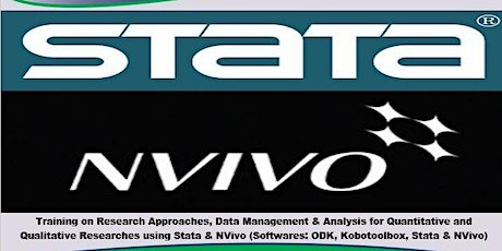Training in Research Approaches, Data Management & Analysis (Stata & NVivo) tickets