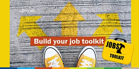Build your job toolkit - Redcliffe Library tickets