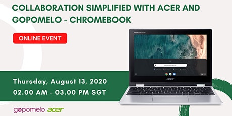 (MALAYSIA) COLLABORATION SIMPLIFIED WITH ACER AND GOPOMELO boletos