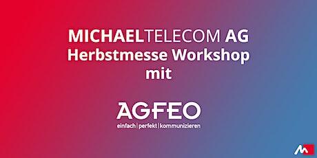 AGFEO HyperVoice - die Soft PBX von AGFEO Tickets