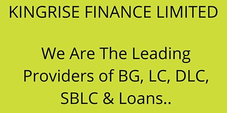 Genuine bank guarantee providers & bg sblc providers tickets