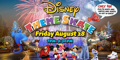 Disney Theme Skate - 28 August 2020 tickets