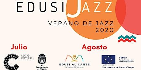 EDUSI JAZZ 2020. Concierto. Viernes 21.- Lolo García & Le jazz Hot entradas