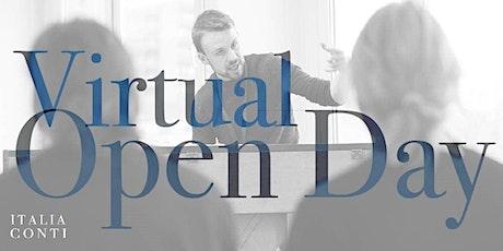 Italia Conti Virtual Open Days tickets