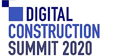 Digital Construction Summit 2020 entradas