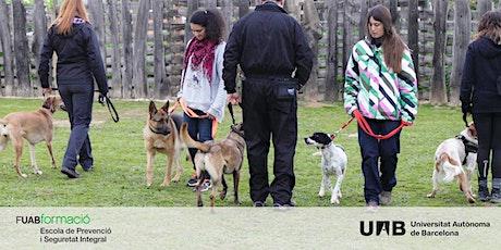 Sesión online sobre el Curso y los Posgrados en Unidades Caninas de Trabajo entradas