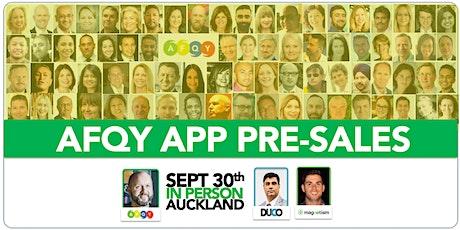 AFQY - September - Auckland tickets